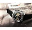 LIP Vintage Chronograph hand winding watch Valjoux 7734 Oversize RACING Black Dial *** BEAUTIFUL ***