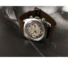 Cristal Watch RACING vintage chronograph manual winding watch Cal Valjoux 7734 *** SPECTACULAR ***