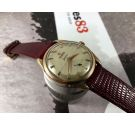 Omega Geneve Reloj suizo antiguo de cuerda Cal 267 Ref 2903-1 Plaqué OR *** CROSSHAIR ***