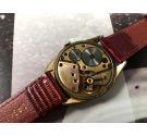 Omega Geneve Vintage swiss hand wind watch Cal 267 Ref 2903-1 Plaqué OR *** CROSSHAIR ***