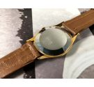 NOS Fortis FURORA Reloj suizo antiguo de cuerda OVERSIZE 38 mm Cal AS1130 17 jewels Plaqué OR *** NUEVO ANTIGUO STOCK ***