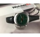 NOS Omega Chronostop Reloj antiguo cronógrafo de cuerda Cal 865 Ref. 146.009 - 146.010 Dial Verde *** NUEVO DE ANTIGUO STOCK ***