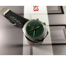 NOS Omega Chronostop vintage chronograph hand winding watch Cal 865 Ref. 146.009 - 146.010 Green Dial *** NEW OLD STOCK ***