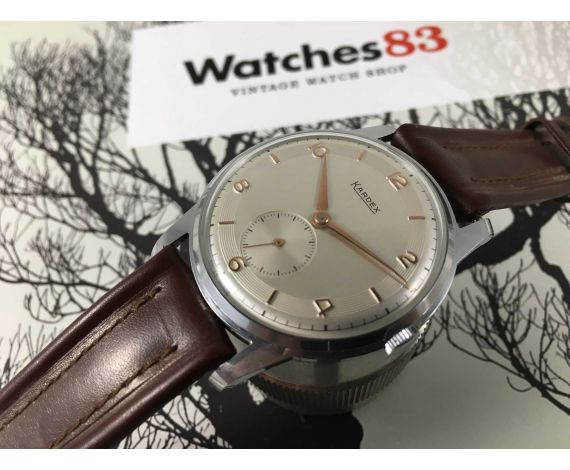 NOS KARDEX Swiss vintage hand wind watch NEW OLD STOCK *** GREAT DIAMETER ***
