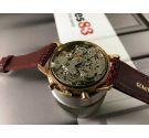 Yema Vintage chronograph hand winding watch Cal 7734 plaqué or *** BEAUTIFUL ***