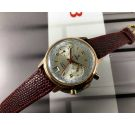 Yema Vintage chronograph hand winding watch Cal 7734 plaqué or *** BEAUTIFUL ***