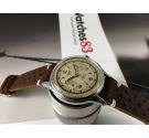 HEUER Leonidas Reloj cronógrafo suizo antiguo de cuerda Cal Valjoux 23 *** ESPECTACULAR ***