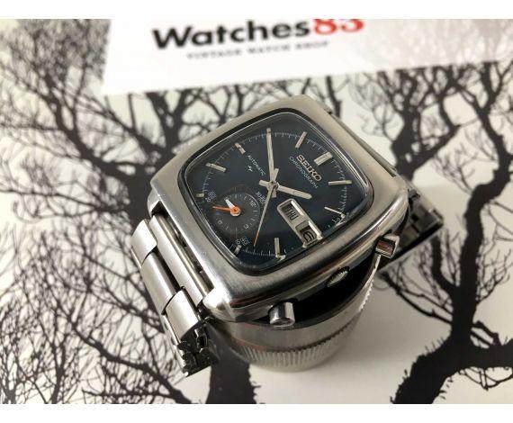 Seiko MONACO Ref 7016-5001 Reloj cronografo antiguo automático Cal 7016 *** ESPECTACULAR ***