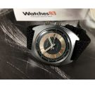 Reloj suizo antiguo de cuerda Sears (Sicura-Breitling) Gran diámetro 41 mm