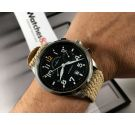 Zeno Watch Basel automatic swiss watch retro bicompax Flieger chronograph 6302-7753 Cal Valjoux 7753 *** SPECTACULAR ***