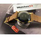 NOS LANDI Antimagnetic Plaqué OR Reloj suizo vintage de cuerda OVERSIZE Cal. AS 1130 *** NUEVO DE ANTIGUO STOCK ***