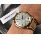 NOS KARDEX Reloj suizo vintage de cuerda OVERSIZE Plaqué OR Cal. FHF 26 *** NUEVO DE ANTIGUO STOCK ***