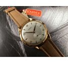 NOS KARDEX Vintage swiss hand winding watch OVERSIZE Plaqué OR *** NEW OLD STOCK ***