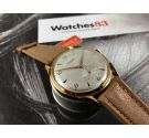 NOS KARDEX Vintage swiss hand winding watch OVERSIZE Plaqué OR Cal. FHF 26 *** NEW OLD STOCK ***