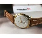 NEW OLD STOCK Fortis Vintage swiss manual wind watch OVERSIZE 38 mm Antimagnetic PLAQUÉ OR Cal. AS 1130 *** NOS ***