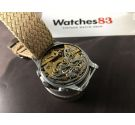BERNA WATCH Vintage swiss chronograph hand wind watch Cal Valjoux 22 *** BEAUTIFUL PATINA ***