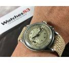 BERNA WATCH Reloj Vintage suizo cronógrafo de cuerda Cal Valjoux 22 *** PRECIOSA PÁTINA ***