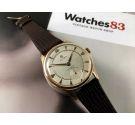 CYMA Swiss vintage manual winding watch Cal 586K Gold 18K 0.750 OVERSIZE *** WONDERFUL ***