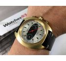 WALTHAM Racing Vintage swiss chronograph hand wind watch Cal Valjoux 7733 BREITLING Style Dial *** SPECTACULAR ***