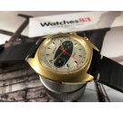WALTHAM Racing Reloj suizo cronografo antiguo de cuerda Cal Valjoux 7733 Dial estilo BREITLING *** ESPECTACULAR ***