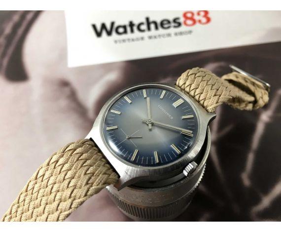 Longines vintage reloj suizo de cuerda Cal 6922