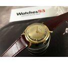 Zenith Champagne Reloj suizo antiguo de cuerda Oro 18K Cal 2532 *** MARAVILLOSO ***