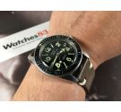 LAUSANN Reloj vintage automático DIVER Ebauche Suisse Cal ETA 2472 *** ESPECTACULAR ***