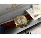 Maurice Lacroix automatic Vintage watch chronograph Cal Valjoux 7750 Ref 39353 + BOX + Papers