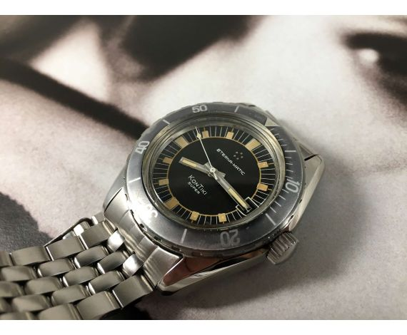 Eterna Matic KONTIKI SUPER Vintage DIVER automatic watch Cal Eterna 1489K *** COLLECTORS ***