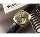 NOS LIP Reloj Cronografo antiguo de cuerda Venus 188 Laminado ORO 20 microns *** NUEVO DE ANTIGUO STOCK ***