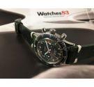 CROTON Chronomaster Aviator Sea Diver Vintage hand wind chronograph watch Cal Valjoux 23 *** SPECTACULAR ***