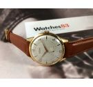 NOS KARDEX Vintage swiss textured hand winding watch OVERSIZE Plaqué OR *** NEW OLD STOCK ***