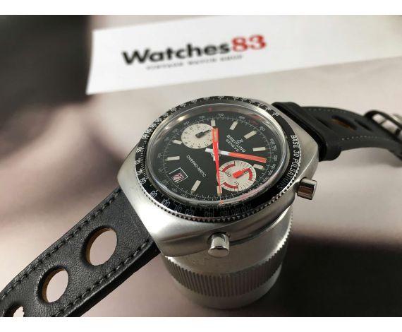 Breitling Chrono-Matic Ref 2114 Reloj Vintage cronógrafo suizo automatico Cal 11 *** ESPECTACULAR ***