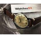 Vintage swiss hand winding watch Rolex Tudor Aqua Geneve Suisse Cal 2402 *** PATINA ***