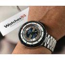 Potens de Luxe Vintage swiss hand winding diver watch Depth meter Cal AS ST 1950/51 RARE *** OVERSIZE ***