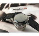 WAKMANN vintage swiss hand winding chronograph watch triple register Cal Valjoux 7736 *** COLLECTORS ***