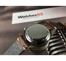 Craftsman vintage swiss hand winding chronograph watch Cal Landeron 248 Panda reverse dial *** BEAUTIFUL ***