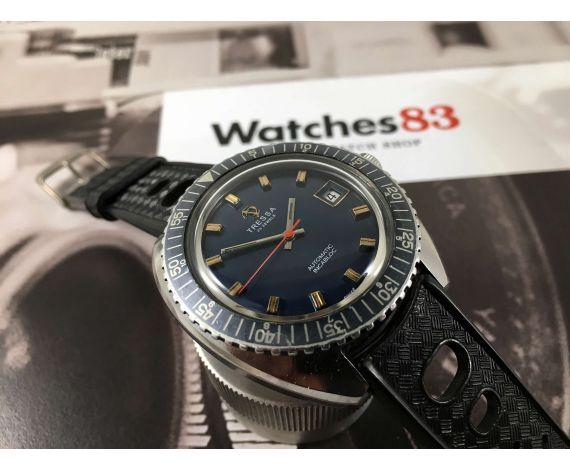 TRESSA Reloj suizo antiguo automático DIVER 25 jewels Cal Felsa 4462 *** OVERSIZE ***