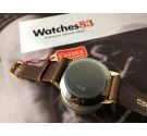 KARDEX Reloj texturado suizo vintage de cuerda OVERSIZE Plaqué OR NOS Cal. ETA 1120 *** NUEVO DE ANTIGUO STOCK ***