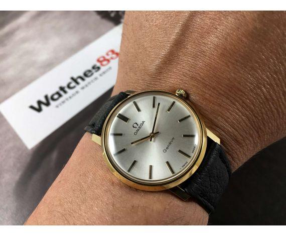 Omega Genève Reloj suizo antiguo de cuerda Cal 620 Ref MD 111.0108 *** PLAQUÉ OR 20 MICRONS ***