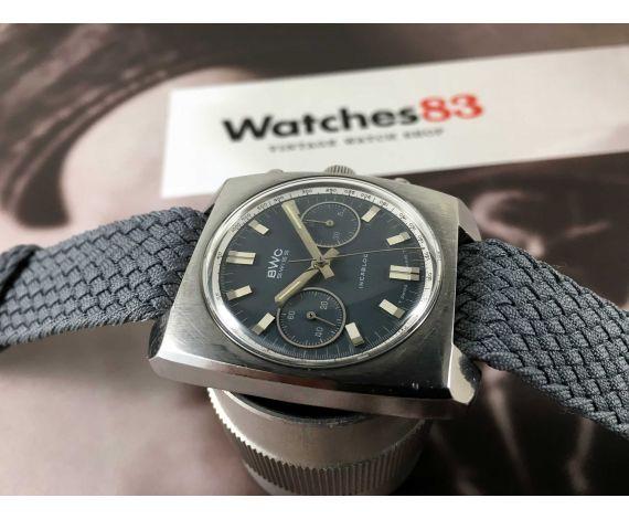 BWC Vintage swiss chronograph hand winding watch Cal Landeron 248 *** BEAUTIFUL ***