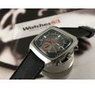 Enicar MANTAGRAPH Reloj cronógrafo taquímetro suizo automático vintage Cal AR 219 (SEIKO 7016 A) *** ESPECTACULAR ***