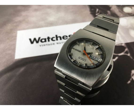 Vintage swiss automatic wristwatch SANDOZ 25 jewels Cal. FHF 908 *** SPECTACULAR ***