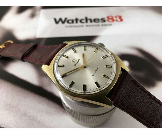 Omega Genève vintage swiss manual winding watch Ref 135.041 Cal 601 Plaqué OR G 20 microns *** BEAUTIFUL ***