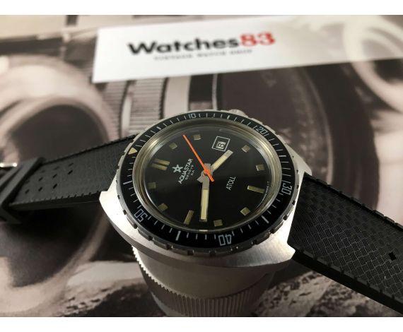 Aquastar SA Genève ATOLL Nemrod Reloj Diver suizo antiguo automático Cal AS 2063 *** COLECCIONISTAS ***