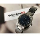 ETERNA MATIC 1000 Vintage swiss automatic watch Cal ETA 2824-1 Blue Dial 5 STAR *** EXCELLENT CONDITION ***