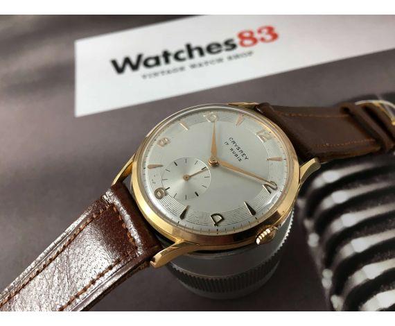 N.O.S. Crysrey Vintage swiss hand winding watch Plaqué OR Cal ETA 1120 *** NEW OLD STOCK ***