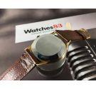 N.O.S. Crysrey Reloj suizo antiguo de cuerda Plaqué OR Cal ETA 1120 *** NUEVO DE ANTIGUO STOCK ***