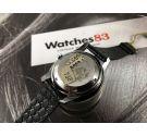 NOS Miramar Genève Incabloc Reloj suizo vintage automatico Cal. AS 1902/03 Estilo Polerouter *** NUEVO DE ANTIGUO STOCK ***