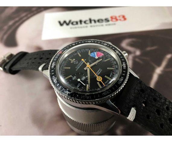 CANDINO Chronographe Reloj cronógrafo antiguo de cuerda Cal Valjoux 7733 OVERSIZE *** ESPECTACULAR ***